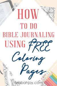Are you looking to enhance your Bible journaling skills? Have you tried Bible journaling coloring pages? We're sharing how to do Bible journaling using free coloring pages.