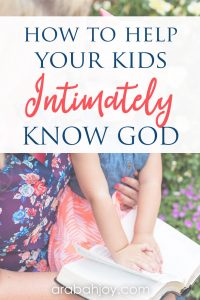 If you want to learn how to teach kids Scripture, be sure to check out our new Bible study for kids. Help kids learn truths about God as you teach the Bible at home.