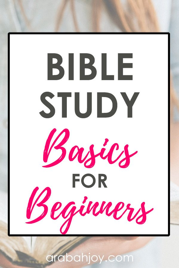 Bible study for beginners is essential. We're offering tips for how to study the Bible. Read these Bible basics.