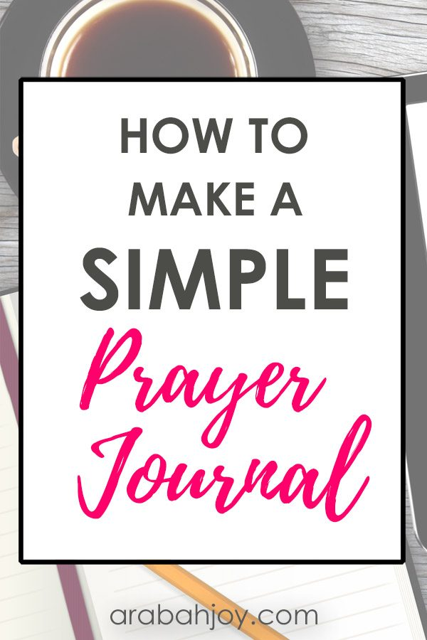 Prayer is vital to the Christian life. Learn how to make a DIY prayer journal with these great ideas.