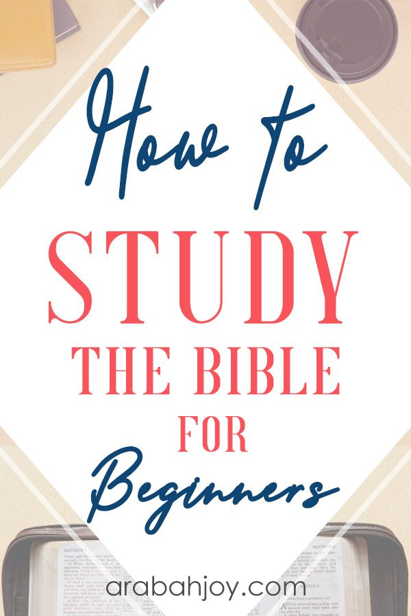We have a beginner Bible study plan for those learning how to study the Bible. Learn how to understand the Bible for beginners.