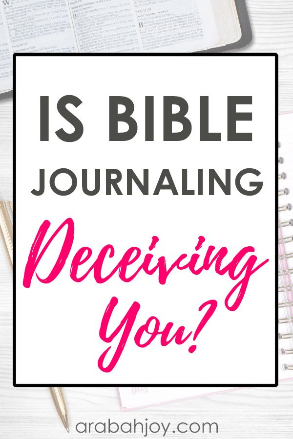 Is journaling deceiving you? Read some of our concerns and see if you've fallen victim to any of these traps.