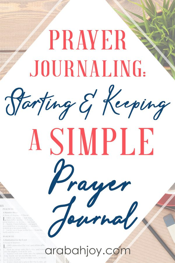 Learn how to start a prayer journal with these DIY prayer journal ideas.
