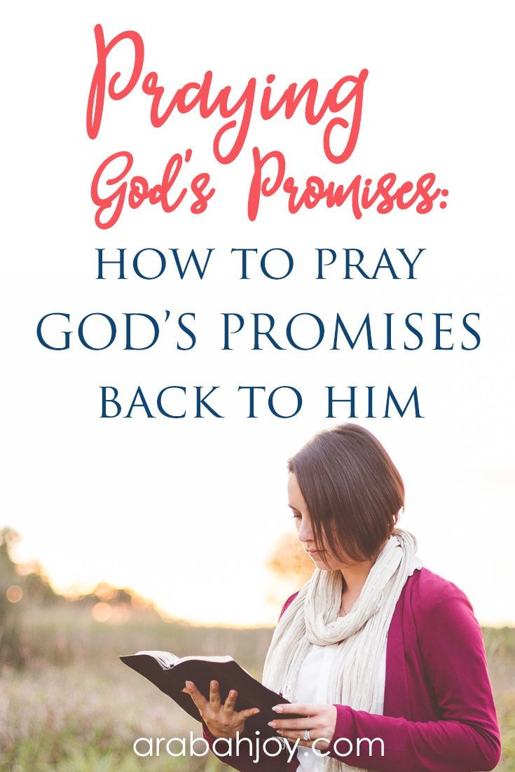 Praying the promises of God involves prayign God's promises back to Him. Use these 80+ Scripture prayers to pray God's Word.