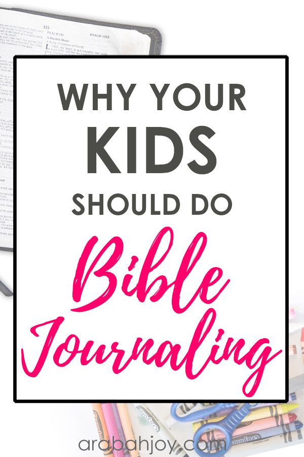 If you're looking for ideas for Bible study for young children, be sure to check out these options for journaling for kids. See the resources we have for journaling for children.