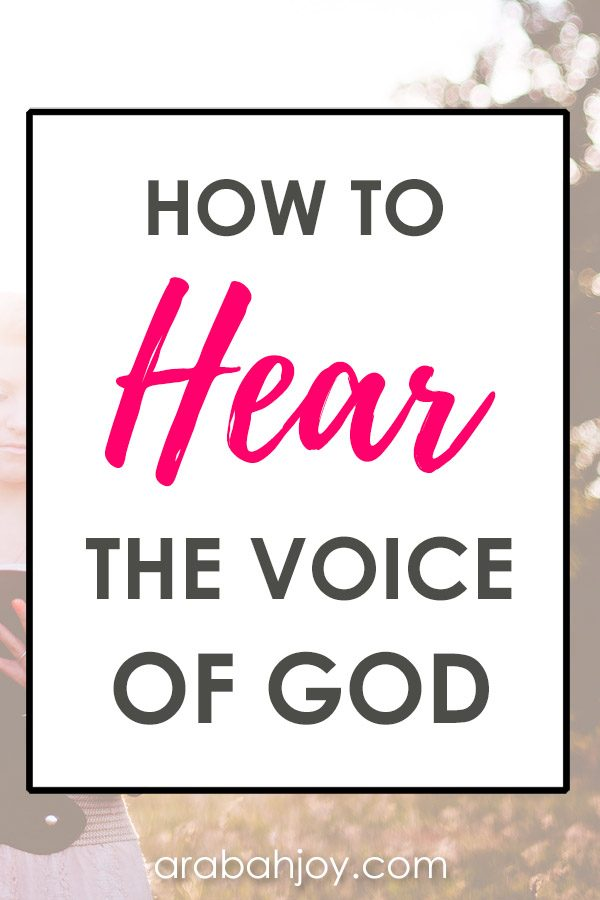 Does God speak to us today? Learn how to discern God's voice and how to know when God is leading you. #faithbuilding #spiritualgrowth