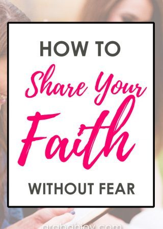 Do you need tips for how to share the gospel? Read our practical ways to share your faith, and be prepared for sharing your faith without fear. #personalevangelism #spiritualgrowth #faithbuilding
