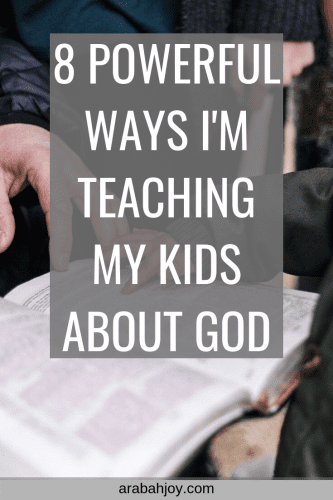 How are you teaching your children the Bible? I