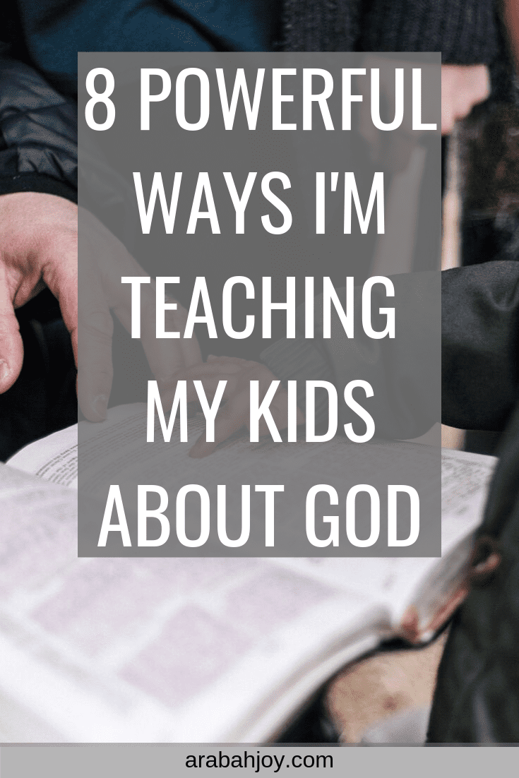 8 Simple Bible Lessons for Kids