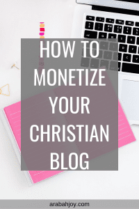 How to monetize your christian blog