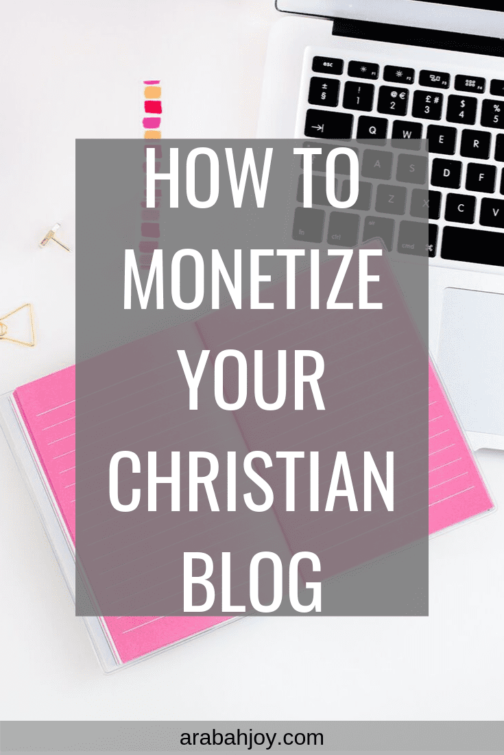 How to Monetize Your Ministry Blog