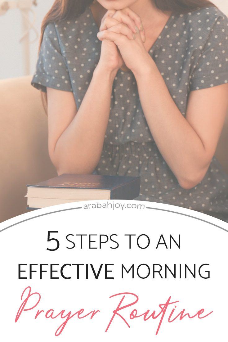 Bible verses about morning prayer to get your morning started on the right foot!