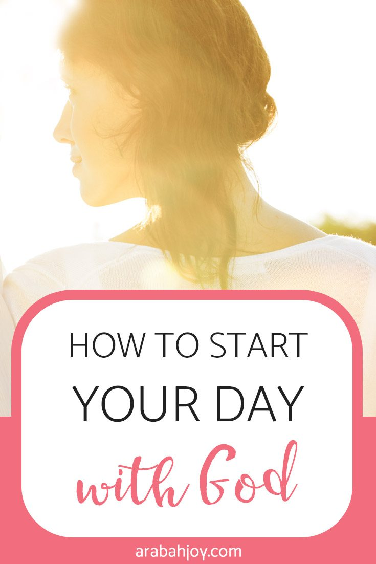 Learn how to start your day with God with these simple tips!