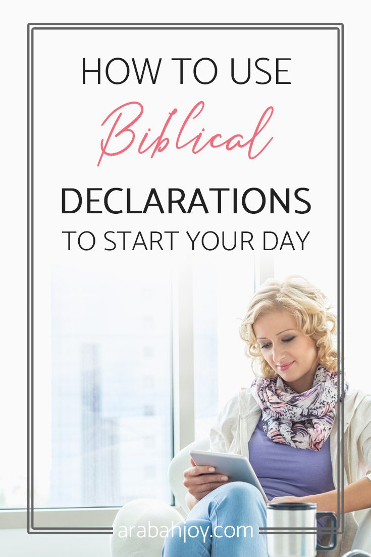 Are you ready to take your mornings by storm? Check out how to use Biblical Declarations to start you day!