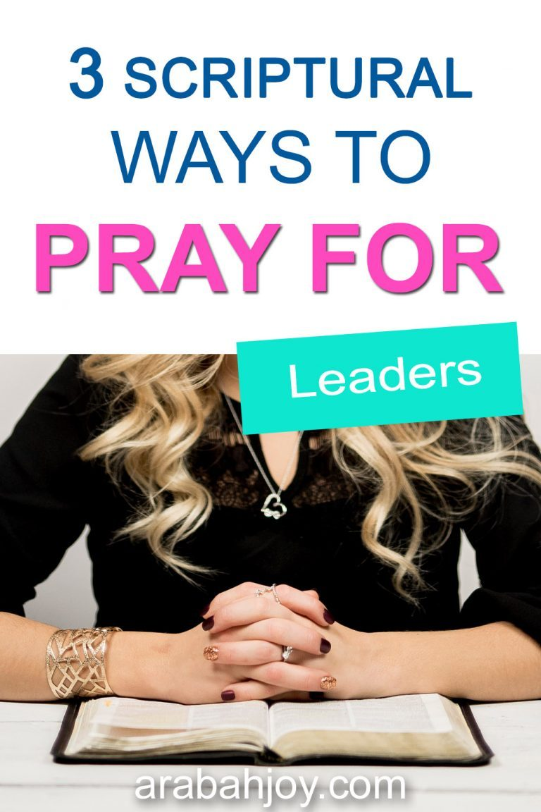 3 Simple Ways to Pray for Government Leaders + FREE Printable Prayer Template