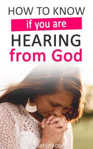 Have you ever wondered how to hear God's voice? Or if what you are hearing is God's voice or your own? Here are 4 tips for knowing how to hear the voice of God