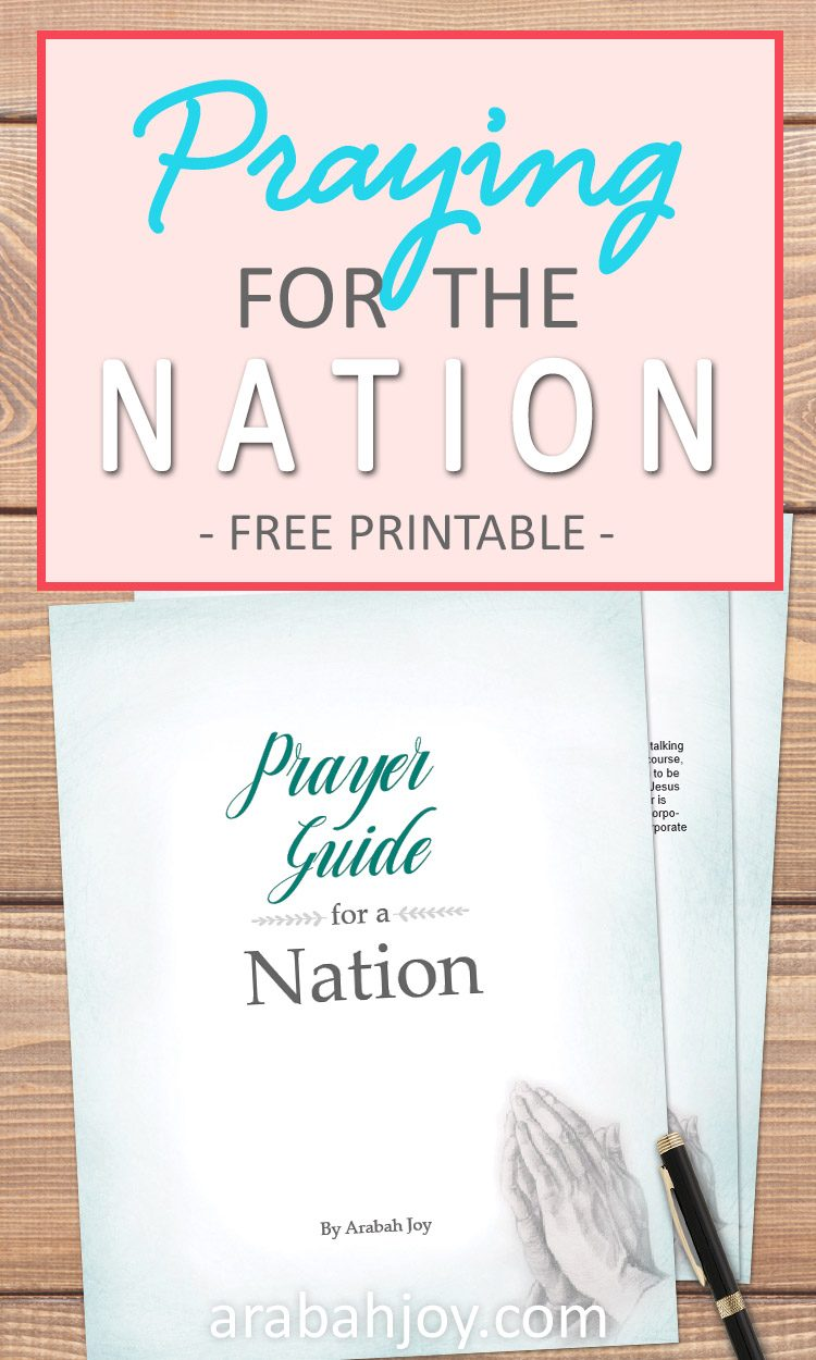 Prayer Guide for our Nation