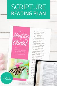 30 Important Scriptures for knowing who I am in Christ: Know your identity in Christ