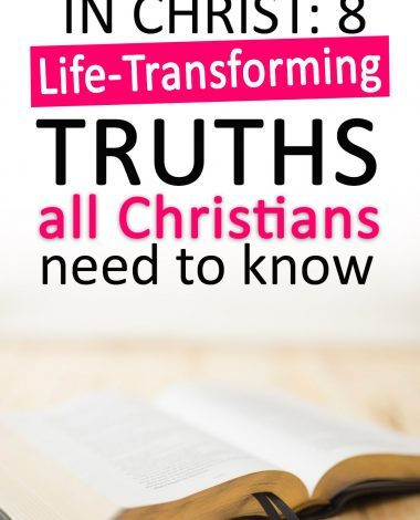 knowing my identity in Christ was such a game-changer for my spiritual growth! Find out these life transforming truths for yourself!
