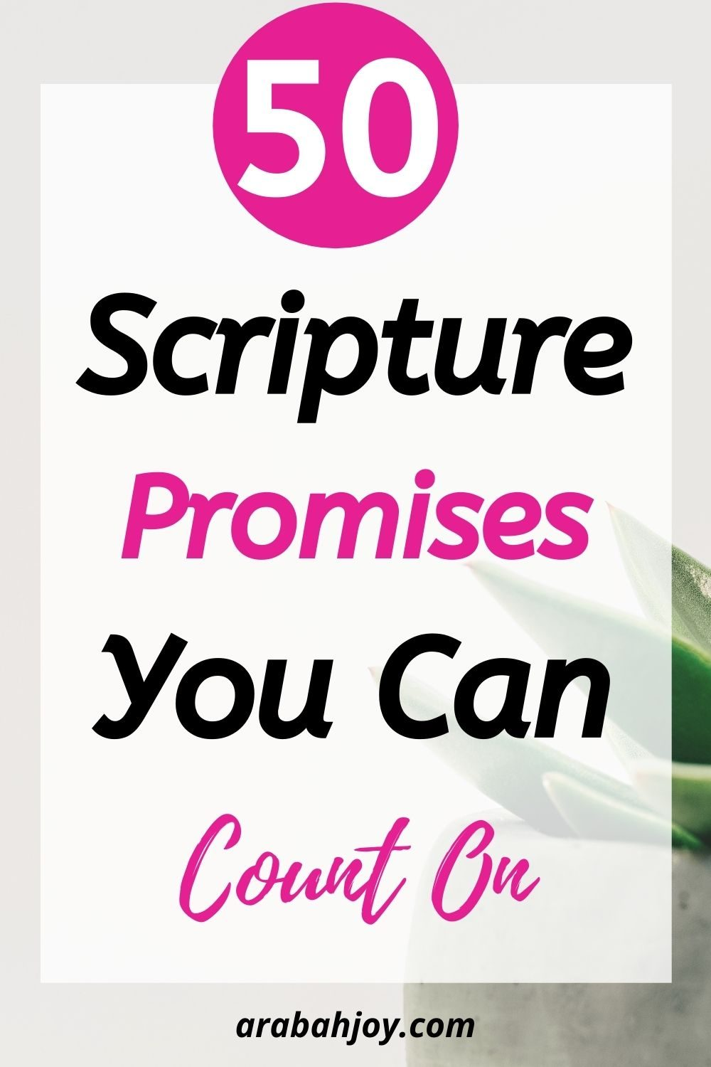 Check out these amazing Scripture promises of God for YOU!