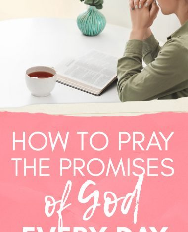 Get your daily dose of biblical affirmation by praying the promises of God each day! Here's how...