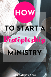 How to easily start a discipleship ministry and exactly what to do in your small group meetings!