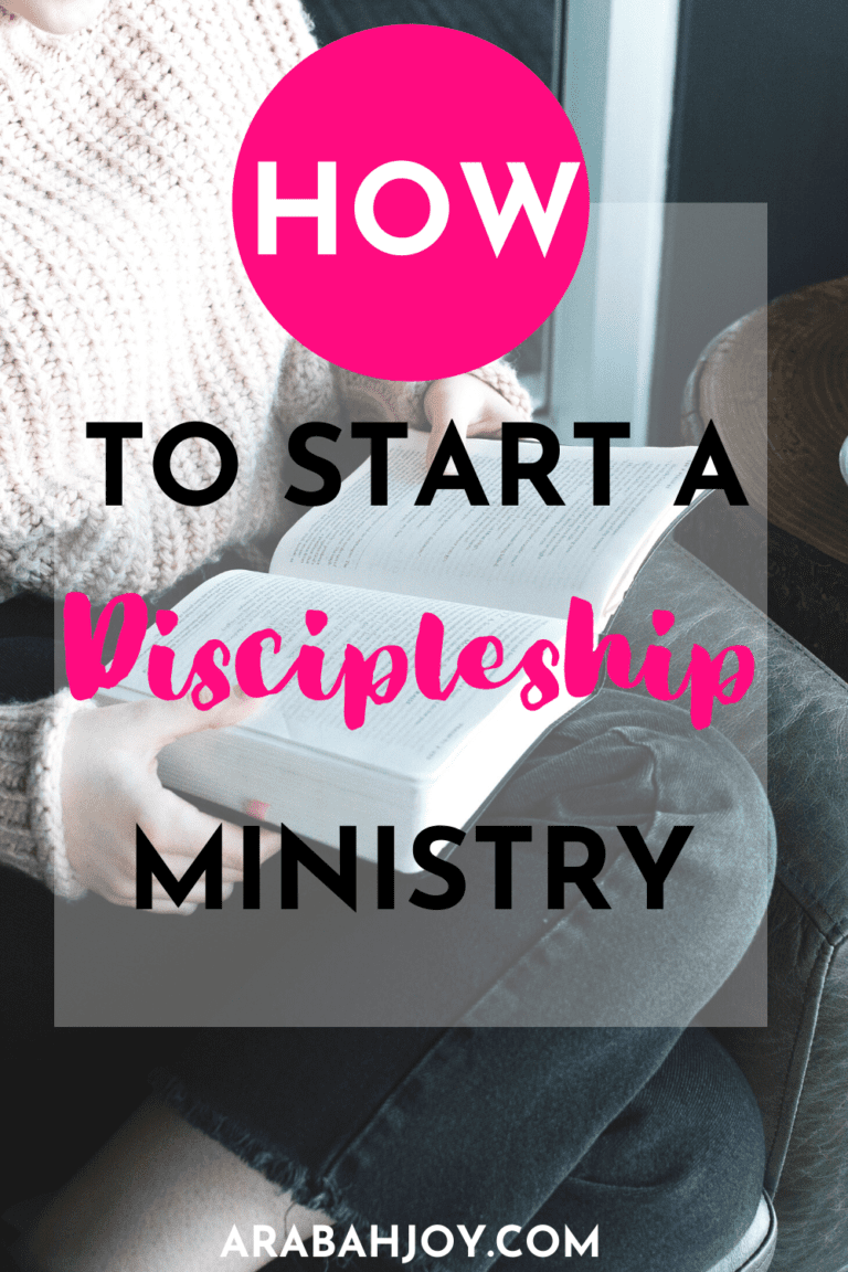 How to Start a Discipleship Ministry in 5 Easy Steps