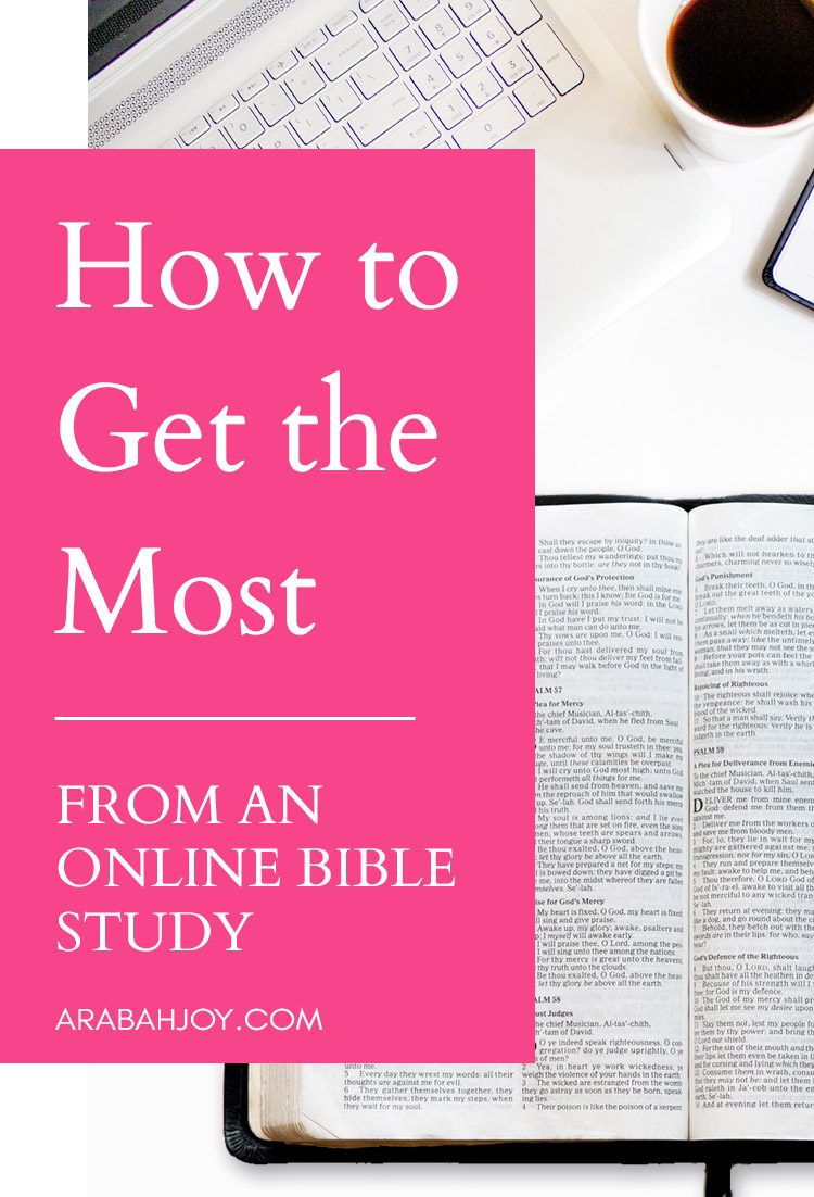 Wondering how to get the most out of an online bible study? Take a look at this list of top online bible studies and how to get the most from an online bible study.
