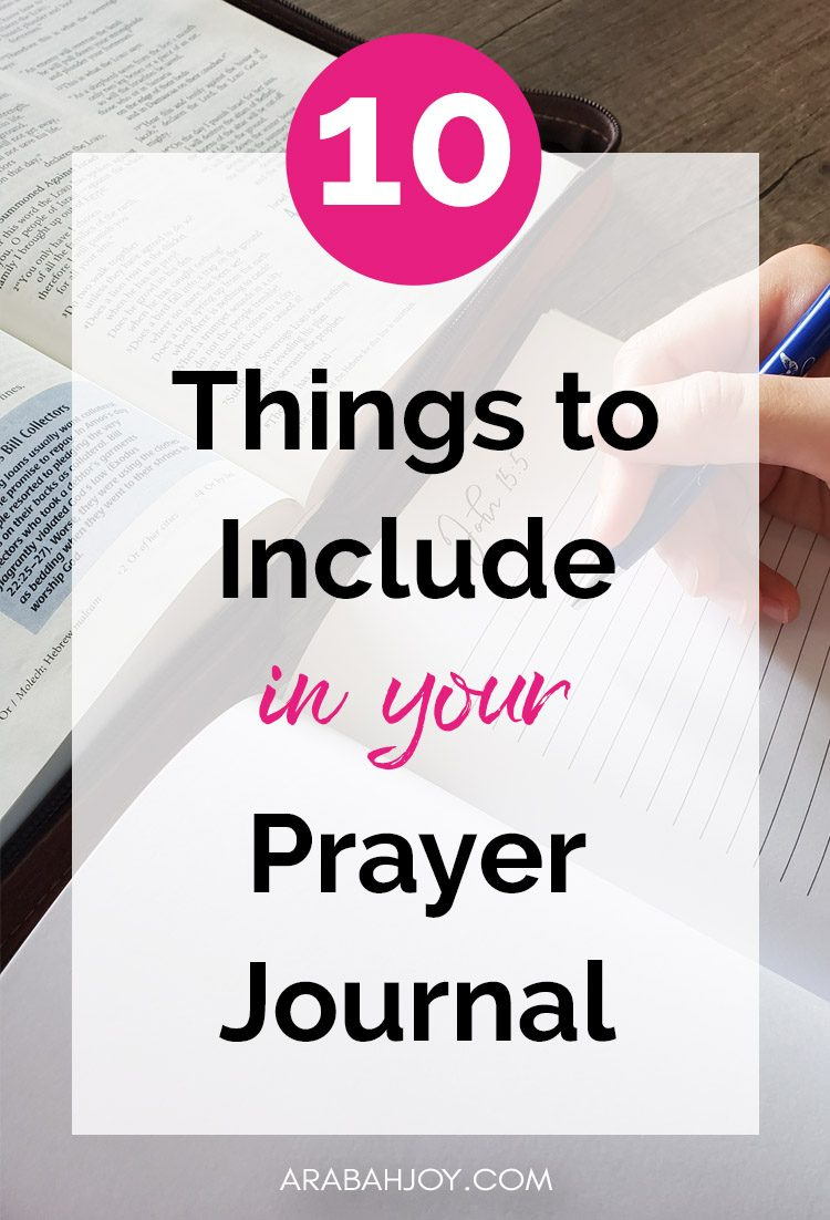 Looking for ideas on how to use your prayer journal? Check this out!