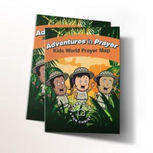 FREE Prayer Map for Kids