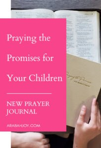 Praying the Promises for your children is one of the most powerful... and important... things you can do for your kids. Learn how to get started TODAY