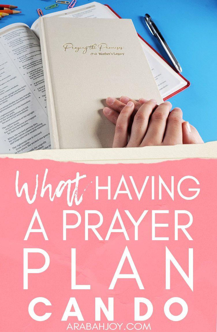 What Having a Prayer Plan Can Do